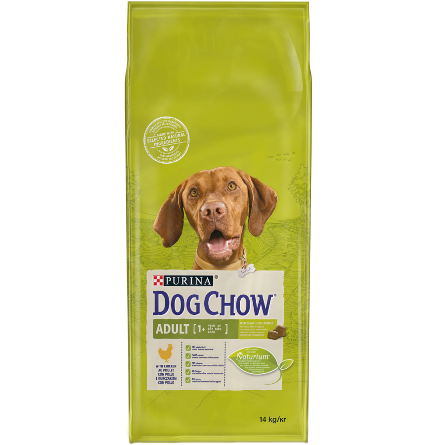 dog chow with chicken